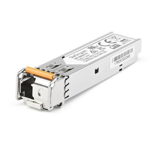 StarTech.com Dell EMC SFP-1G-BX10-U Compatible SFP Module - 1000BASE-BX-U - 10 GbE Gigabit Ethernet BiDi Fiber (SMF) (SFP1GBX10UES)