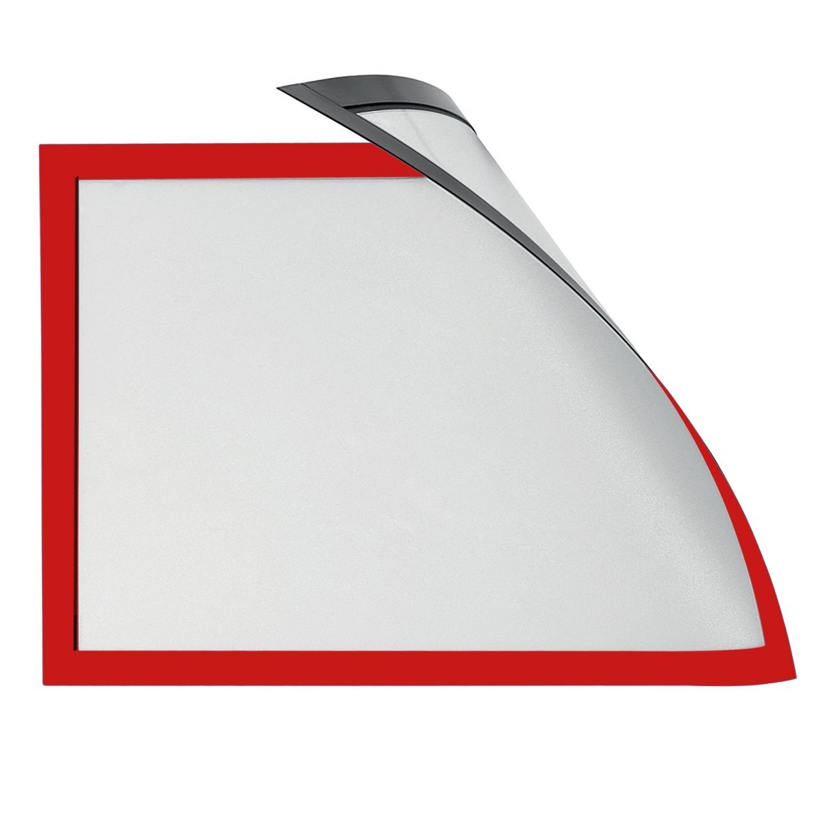 Magiboards Solo Magnetic Paper Holders A3 Red PK6