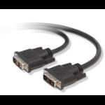 """Belkin 0.91m DVI m/m DVI cable 35.8"""" (0.91 m) DVI-D Black"""