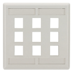 Black Box WPT486 wall plate/switch cover White