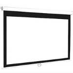 Euroscreen Connect 2400 x 2400 projection screen 1:1