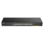 D-Link DGS-1250-28X network switch Managed L3 Gigabit Ethernet (10/100/1000) Black