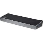 StarTech.com Dock USB-C para Tres Monitores 4K con 5x Puertos USB 3.0