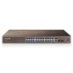 TP-LINK 24-Port 10/100Mbps + 4-Port Gigabit L2 Managed Switch Managed