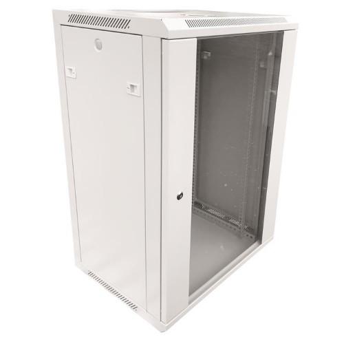 Garbot W02-6418GW rack cabinet 19U Wall mounted rack White