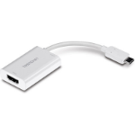 Trendnet TUC-HDMI2 cable interface/gender adapter HDMI 2xUSB-C White