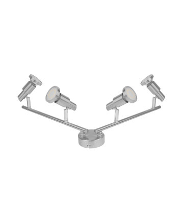 Osram LED spot 4X3 W 827 ceiling lighting Grey GU10