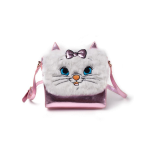 Disney Marie Shoulder Bag With Furry Flap Multicolour Woman
