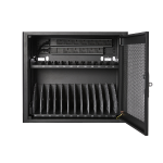 V7 CHGSTA12AC-1K portable device management cart/cabinet Black
