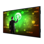 "Christie UHD861-LT Interactive flat panel 2.18 m (86"") LED 4K Ultra HD Black Touchscreen"