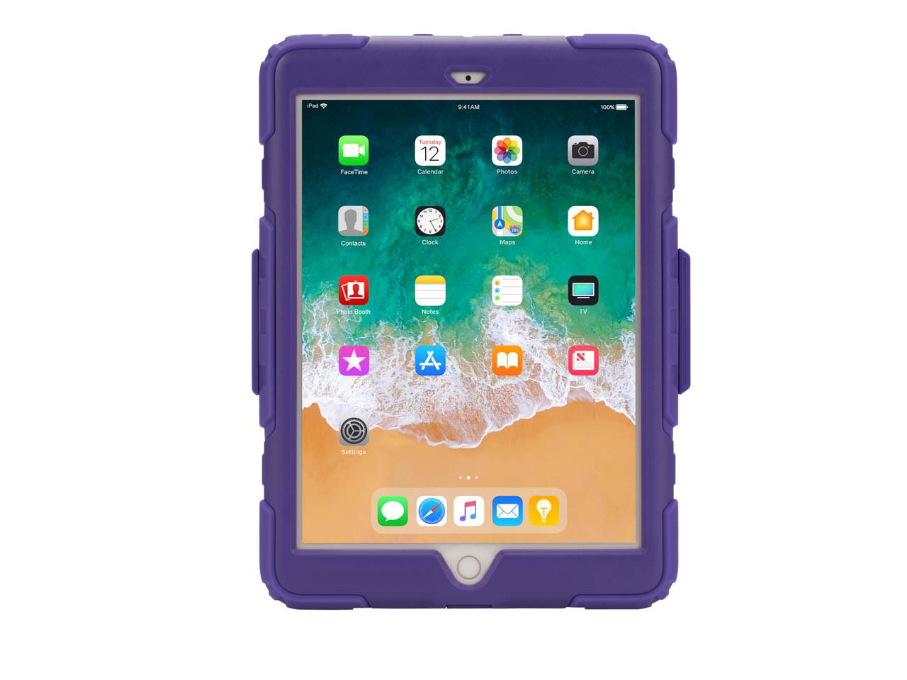 Griffin Survivor All-Terrain - Protective case for tablet - rugged - silicone, polycarbonate, PET -