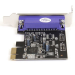 StarTech.com 1 Port PCI Express Low Profile Parallel Adapter Card - SPP/EPP/ECP PEX1PLP