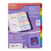 Avery ReadyIndex Dividers Multicolour 12pc(s) divider