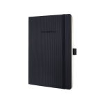 Sigel Conceptum writing notebook Black A5 194 sheets