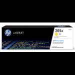 HP CF532A tonercartridge Origineel Geel 1 stuk(s)