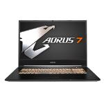 "AORUS 7 SA-7UK1131SH notebook Black 43.9 cm (17.3"") 1920 x 1080 pixels 9th gen Intel® Core™ i7 16 GB DDR4-SDRAM 1512 GB HDD+SSD Windows 10 Home"