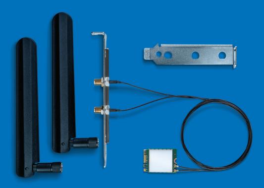 Intel Dual Band Wireless-AC 8265 Desktop Kit Internal WLAN/Bluetooth 867Mbit/s