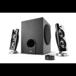 Cyber Acoustics CA-3602 speaker set 2.1 channels 30 W Black,Silver