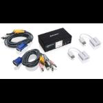 iogear GCS1802DPKIT Black KVM switch