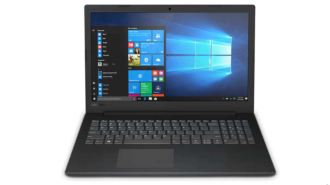 "Lenovo V145 Notebook Black 39.6 cm (15.6"") 1920 x 1080 pixels 7th Generation AMD A6-Series APUs 8 GB DDR4-SDRAM 256 GB SSD Wi-Fi 5 (802.11ac)"