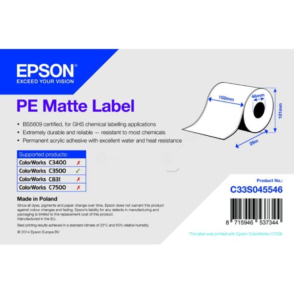 Epson C33S045546 Format-etikettes