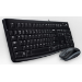 Logitech MK120 teclado USB AZERTY Francés Negro