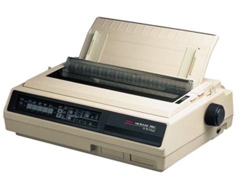 oki ml395 dot matrix printer 360 x 360 dpi 607 cps 5 in