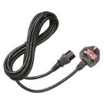 Hewlett Packard Enterprise AF570A power cable Black 1.83 m Power plug type G C13 coupler