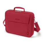"Dicota Eco Multi BASE notebook case 43.9 cm (17.3"") Briefcase Red D30917-RPET"