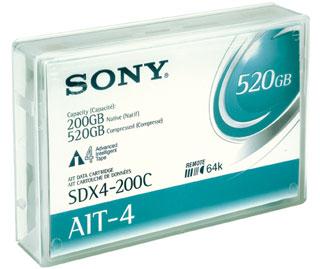 Sony Datatape AIT4 8mm 200/520Gb