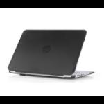 "iPearl MCOVERHPC14G2BLK notebook case 14"" Hardshell case Black,Translucent"