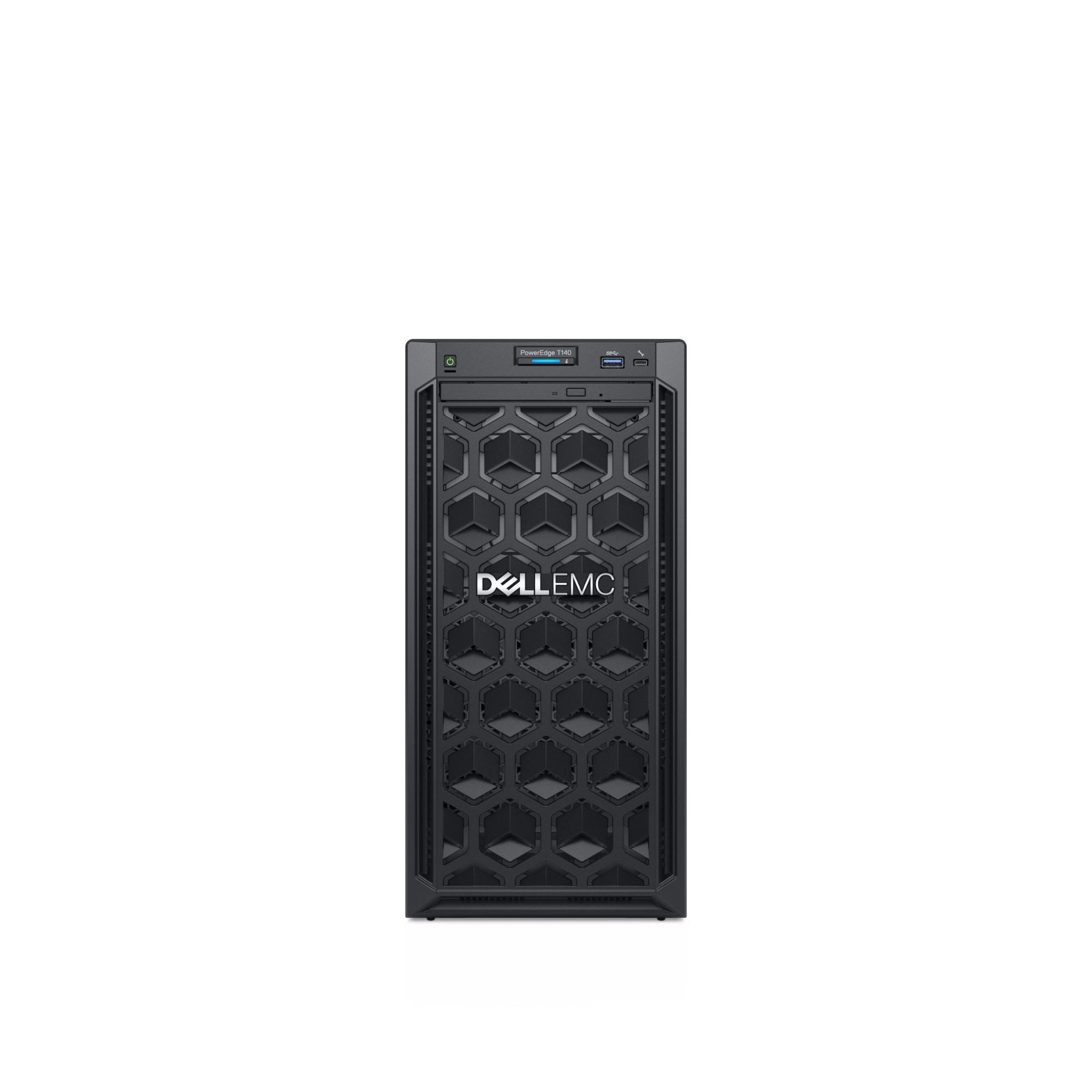 DELL PowerEdge T140 server 3.4 GHz 8 GB Tower Intel Xeon E 365 W DDR4-SDRAM