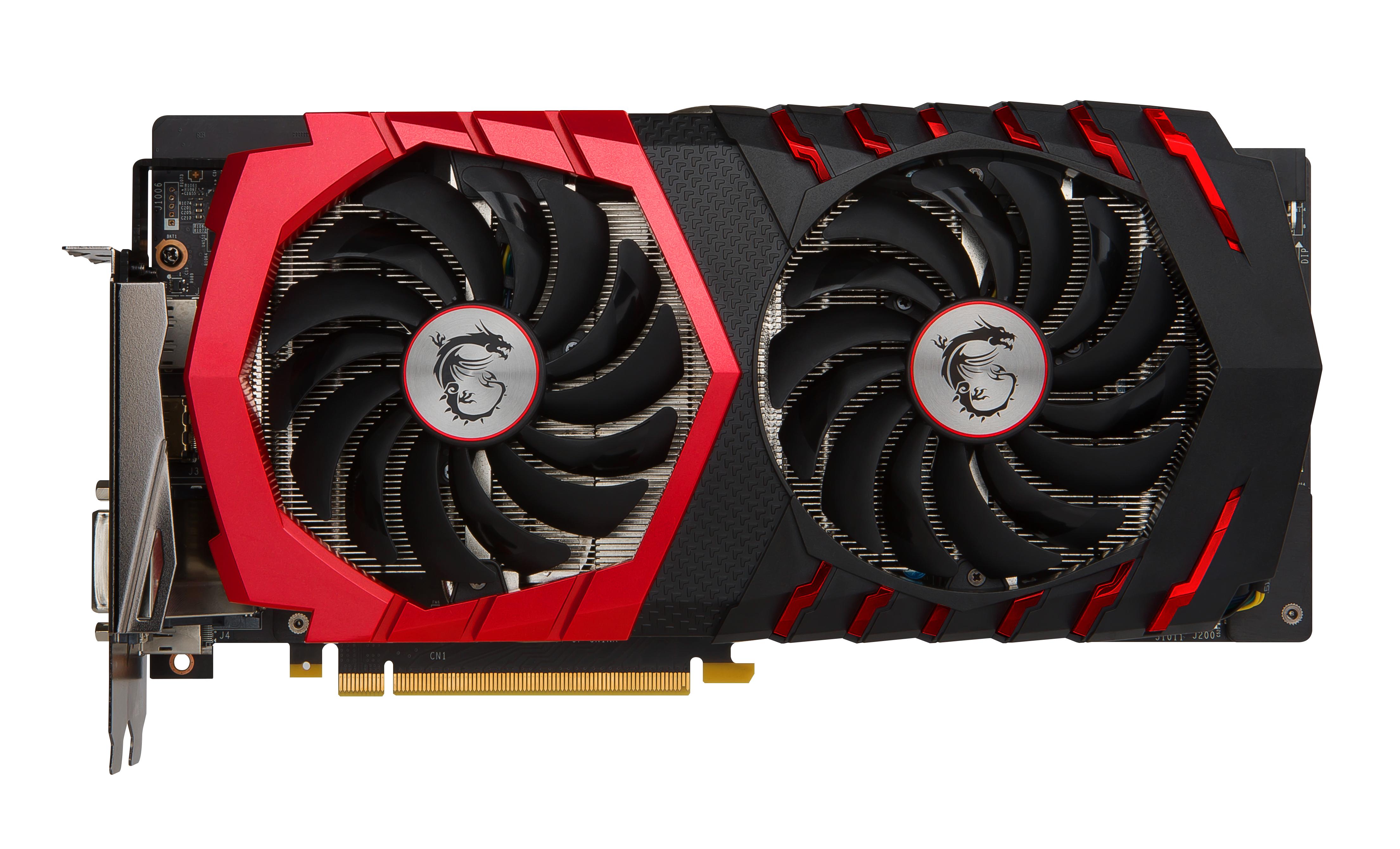 MSI GTX 1060 GAMING 3G GeForce GTX 1060 3GB GDDR5 graphics card