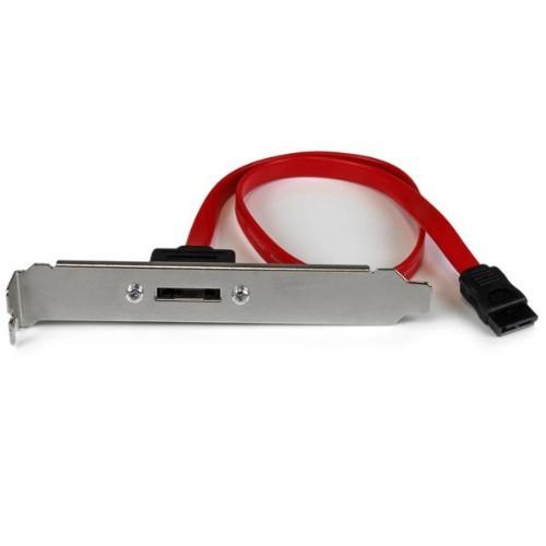 StarTech.com 18in 1 Port SATA to eSATA Plate Adapter
