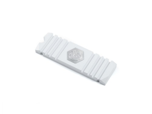 Bitspower BP-HDM2HSAV-WH computer cooling component Solid-state drive Heatsink White 1 pc(s)
