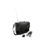Adastra 178.808UK Freestanding Public Address (PA) system 50W Black Public Address (PA) system