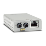 Allied Telesis AT-MMC200LX/ST-TAA-60 network media converter 100 Mbit/s 1310 nm Grey