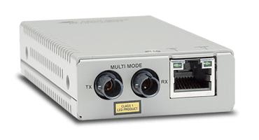 Allied Telesis AT-MMC200LX/ST-TAA-60 convertidor de medio 100 Mbit/s 1310 nm Gris