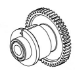 Datamax-O'Neil Clutch Assy Ribbon Rewind