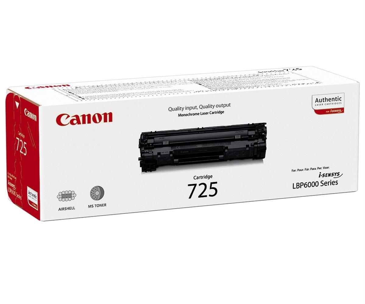 Canon CRG 725 Original Negro 1 pieza(s)