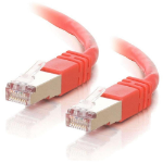 C2G Cat5E STP 10m networking cable U/FTP (STP) Red