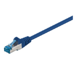 Microconnect 0.25m Cat6a 0.25m Cat6a S/FTP (S-STP) Blue networking cable