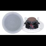 Pyle PDIC81RD loudspeaker 125 W White Wired Terminal