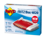 AVM FRITZ!Box 4020 Fast Ethernet 3G 4G Rood draadloze router