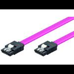 Microconnect SAT15005C SATA cable 0.5 m Pink