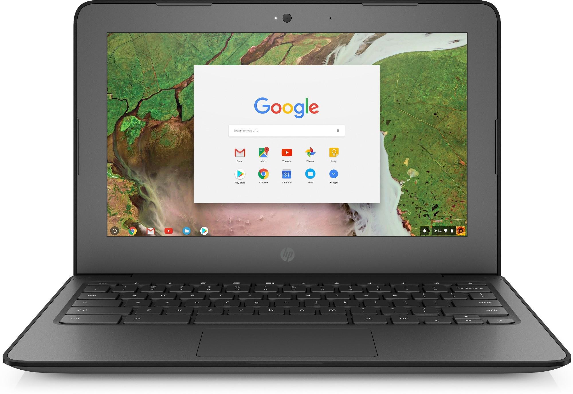 "HP Chromebook 11 G6 EE Black 29.5 cm (11.6"") 1366 x 768 pixels Intel® Celeron® N3350 8 GB LPDDR4-SDRAM 16 GB eMMC Chrome OS"