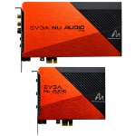 EVGA NU Audio Pro Internal 7.1 channels PCI-E x1