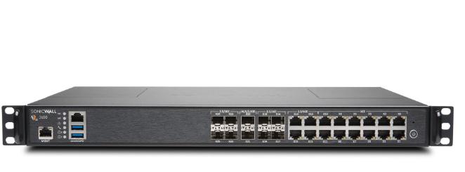 SonicWall NSA 3650 hardware firewall 3750 Mbit/s