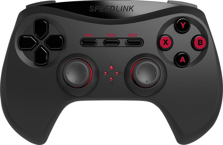 SPEEDLINK STRIKE NX GAMEPAD PC ANALOGUE BLACK