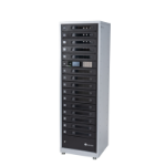 lockncharge FUYL Tower 15 Portable device management cabinet Black, Grey